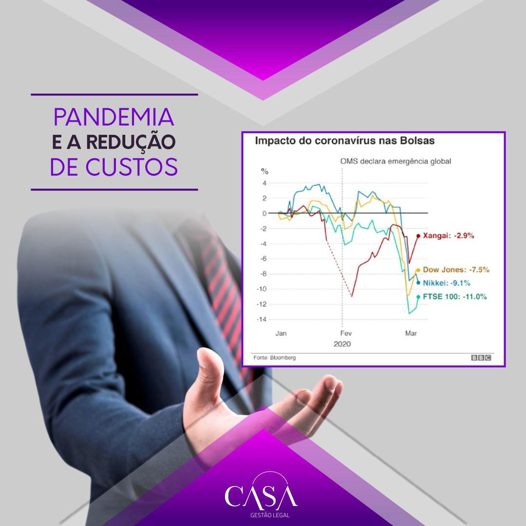 Pandemia e a Redução de Custos Através da Gestão Legal
