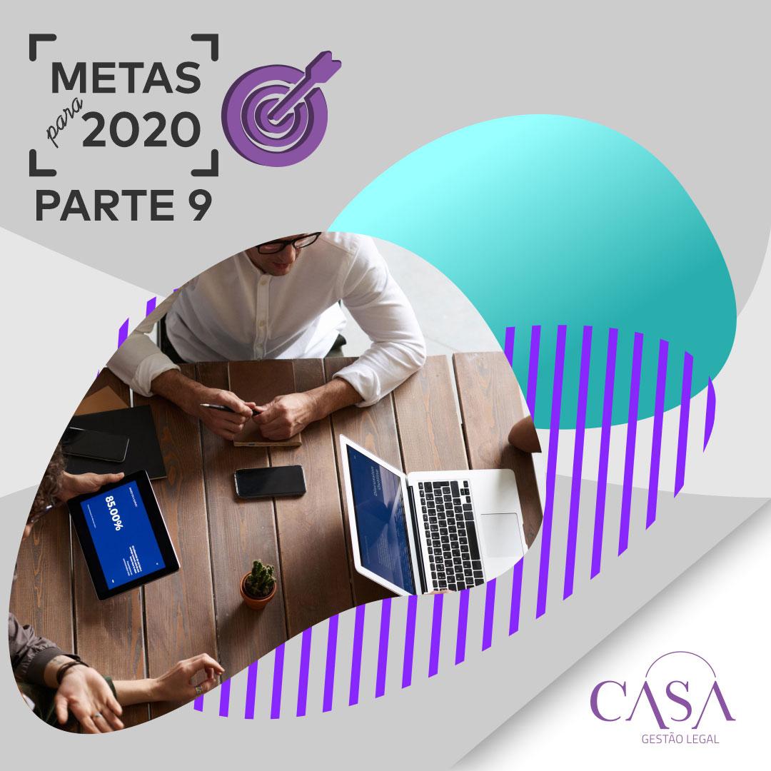 Metas para 2020 – Parte 9